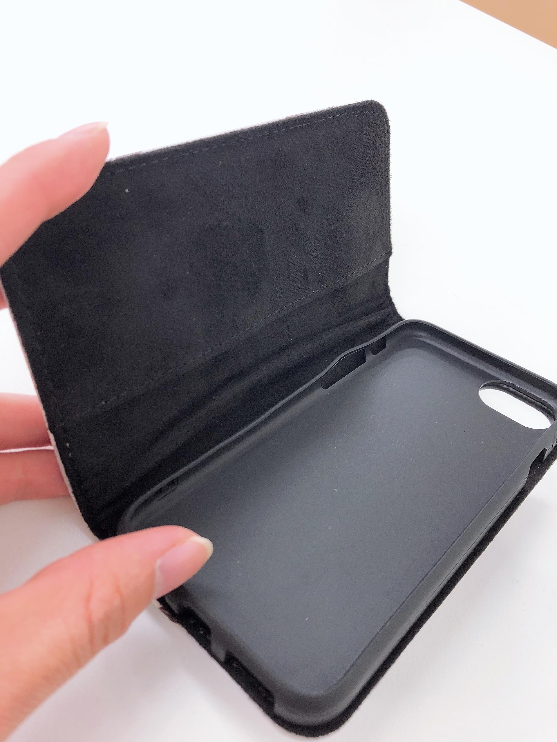 iPhone8キャットフリップケース